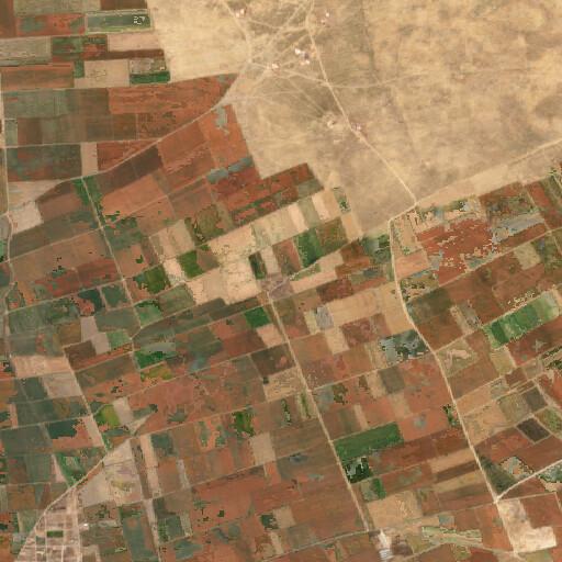 satellite view of the region around Devri Şehri