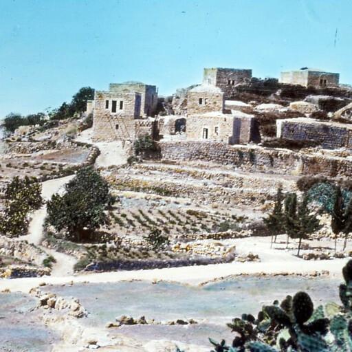 historical cityscape of Beit Ur al Fauqa