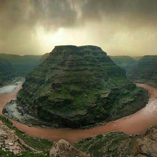 panorama of the Karkheh River