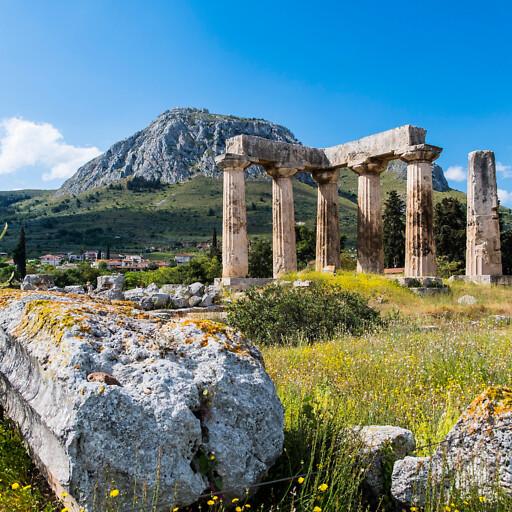 ruins at Corinth