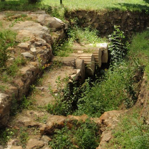 ruins at Oren