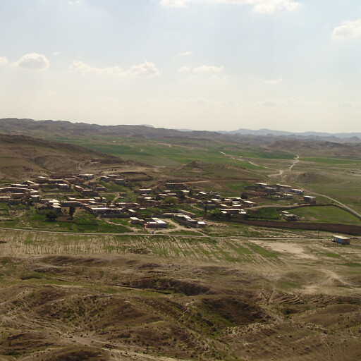 panorama of a region in the plain between the Tigris River and Elam