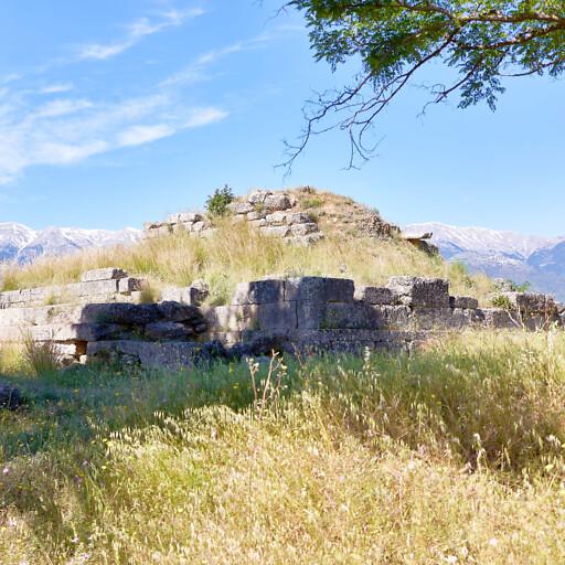 ruins at Sparta