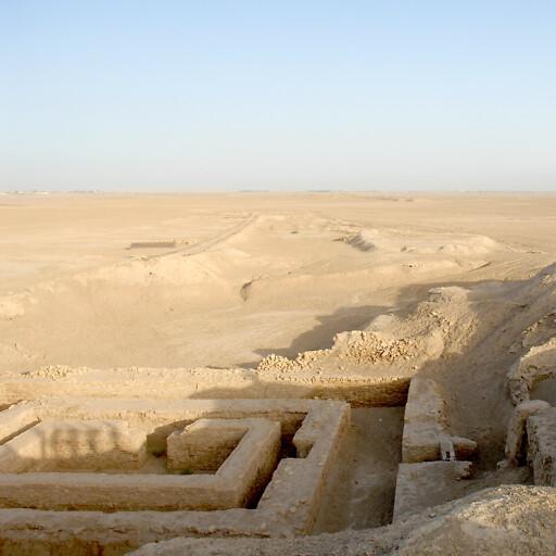 ruins at Uruk