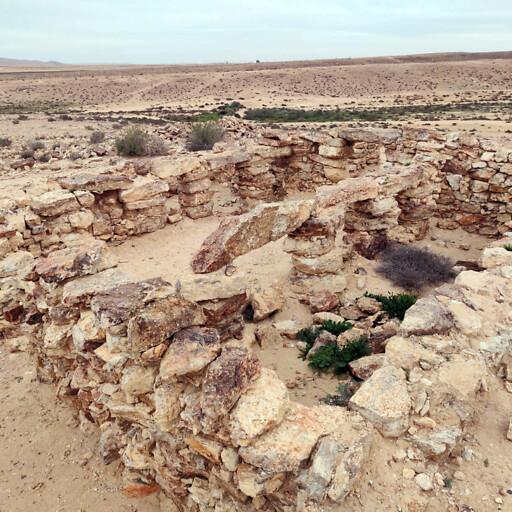 ruins at Horbat HaRoah