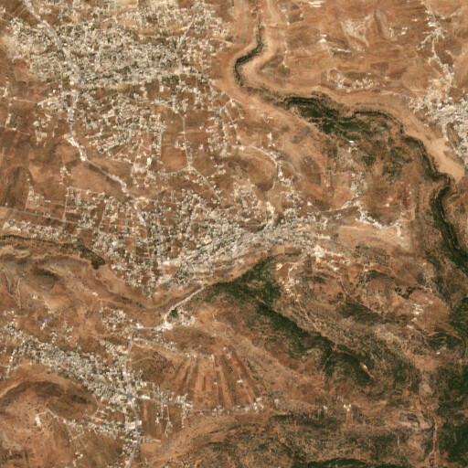 satellite view of the region around Hanzir