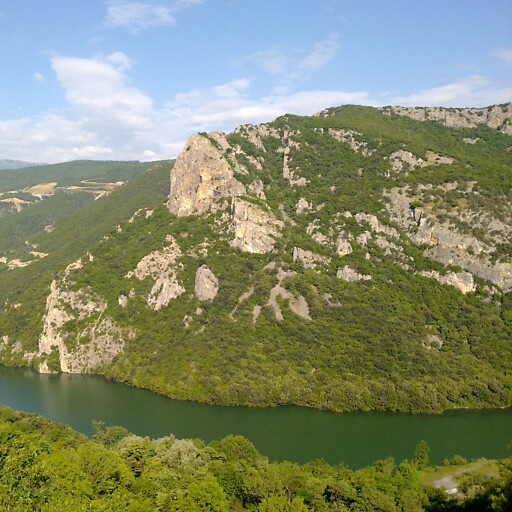 panorama of a natural area in Macedonia