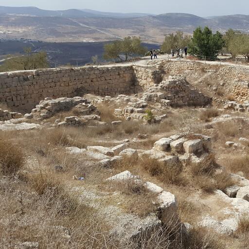 ruins at Samaria