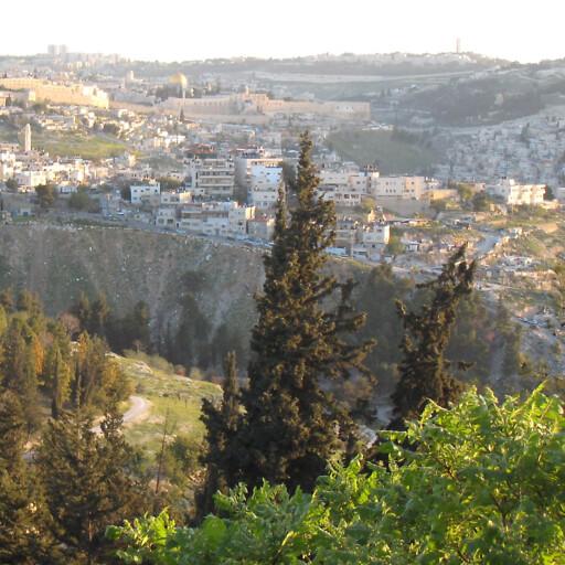 panorama of Nahal Azal