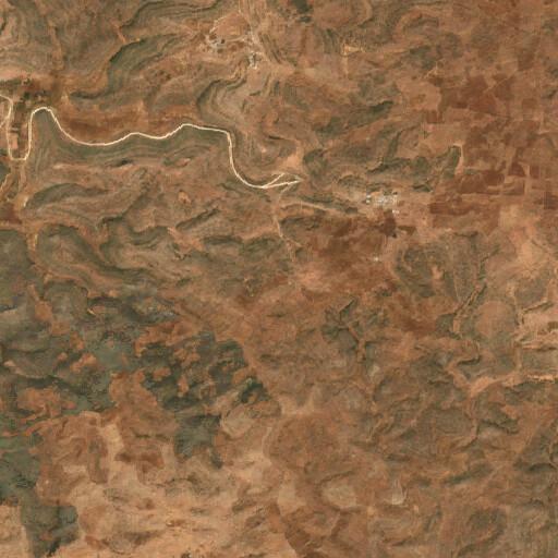 satellite view of the region around El Kaiyara