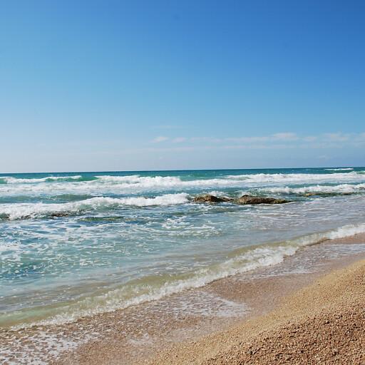 panorama of the Mediterranean Sea