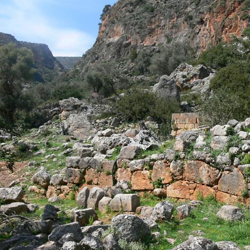 ruins at Lissos