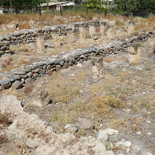 ruins at Tel Ein Gev