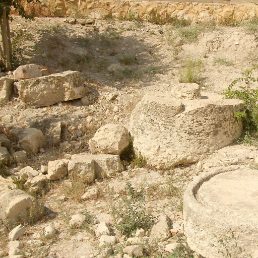 ruins at Qana