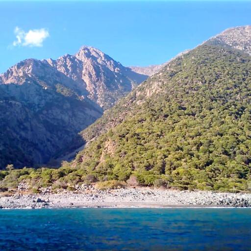 Samothrace in the Aegean Islands