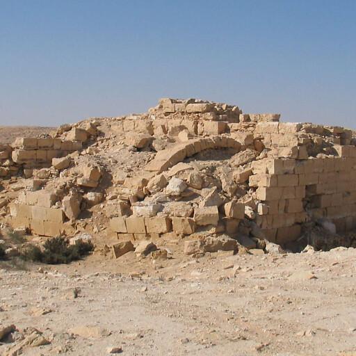 ruins at Haluza