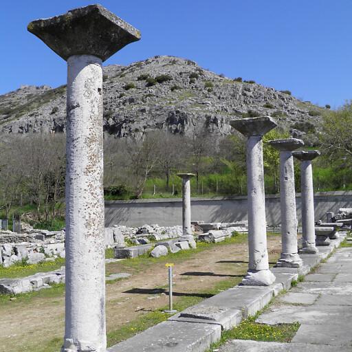 ruins at Philippi