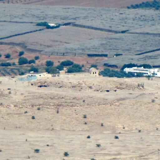 panorama of Tel al Mazar