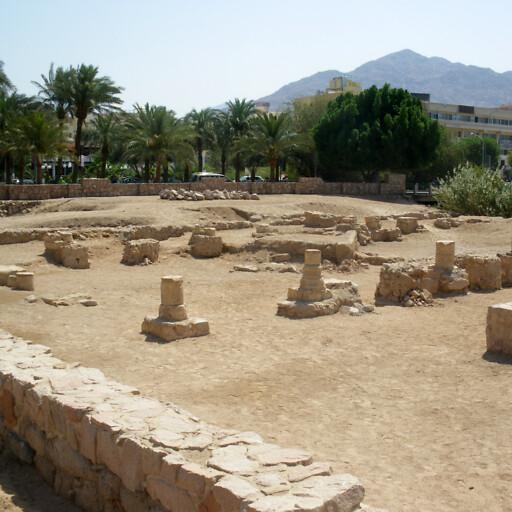 ruins at Aqaba
