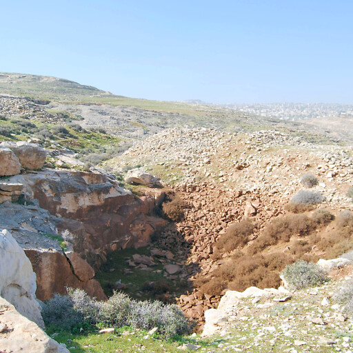 quarry in the region east of Gibeon