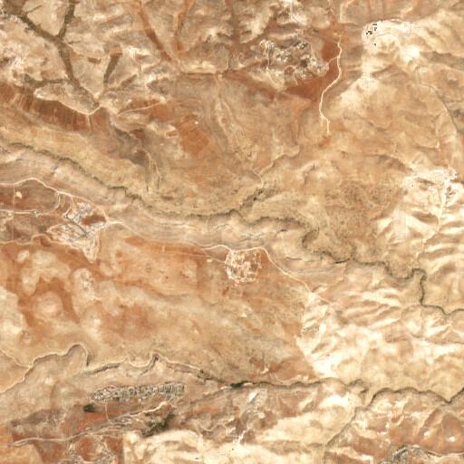 satellite view of the region around El Jai Cave