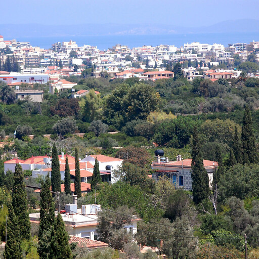 cityscape of Chios