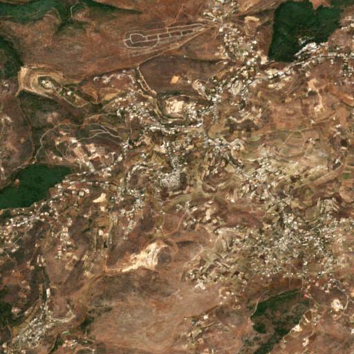 satellite view of the region around Hariss
