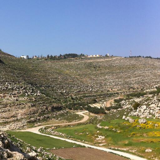 panorama of Wadi el Feranj