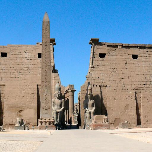 ruins at Thebes