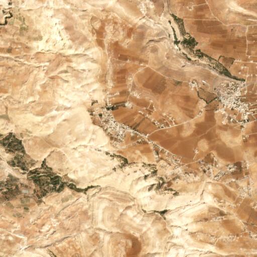 satellite view of the region around Dimnah