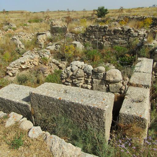 ruins at Enkomi