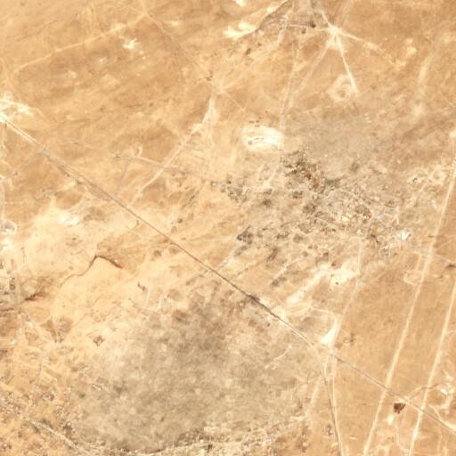 satellite view of the region around Huwwarin