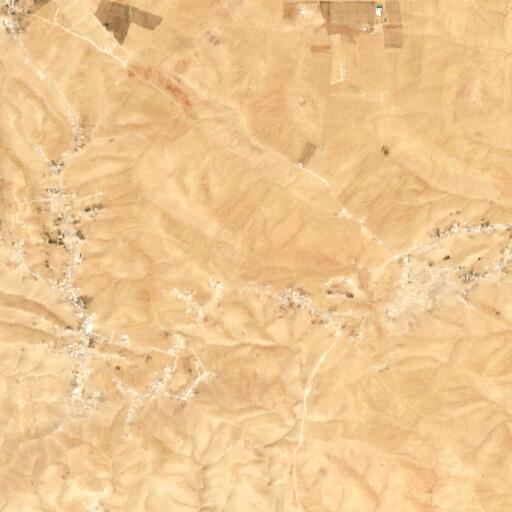 satellite view of the region around Es Saliyeh