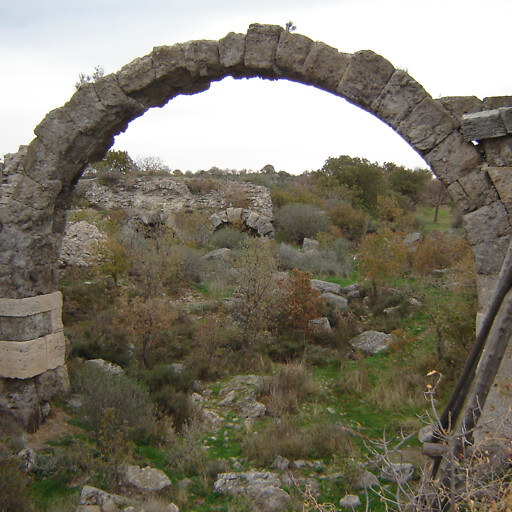 ruins at Alexandria Troas