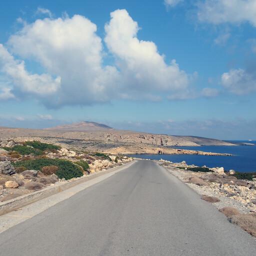 panorama of Cape Sideros