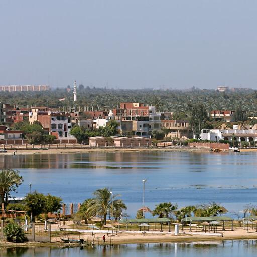 panorama of Lake Timsah