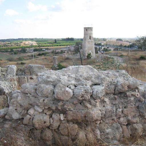 ruins at Yibna