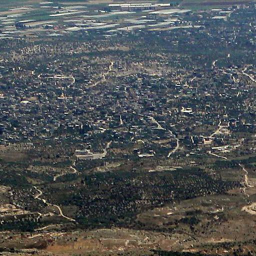 aerial panorama of Yamun