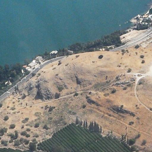 aerial panorama of Tel Raqqat