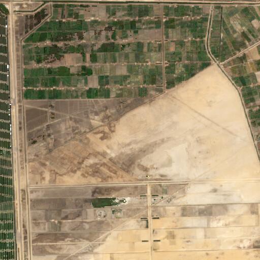 satellite view of the region around Tel Habuwa