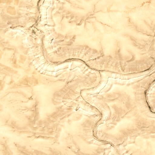 satellite view of the region around Khirbet el Medeineh